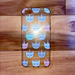 Unicorn cat iPhone case
